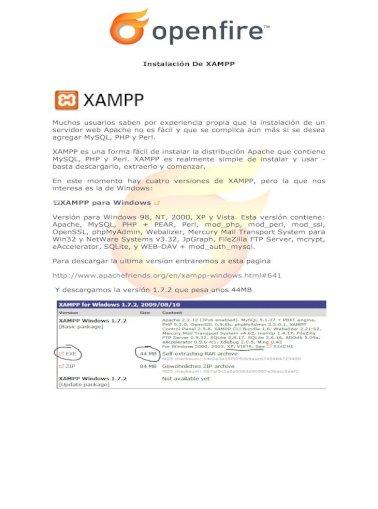 Xampp Sqlite